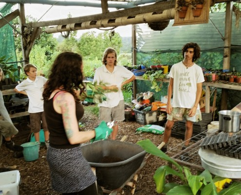 Eat the Street Gathering at Northbank Community Garden 2015